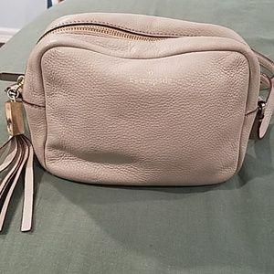 Kate Spade taupe crossbody bag